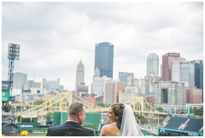 JP + Alyssa | PNC Park Wedding, Pittsburgh PA | Indiana PA Photographer